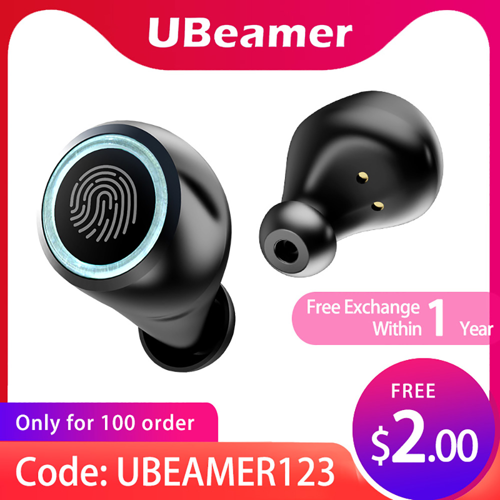 2020 TWS Ubeamer Bluetooth Earphone Wireless Earphone With Charging Case Microphones Auriculares Bluetooth For Sports,Work