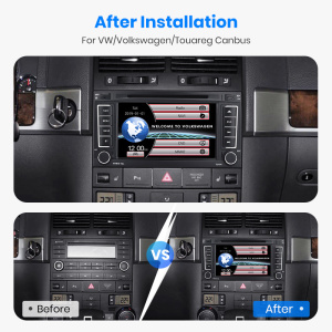 Image 5 - Junsun 2 din Car Radio Multimedia dvd playe For VW Volkswagen Touareg 2004   2011 Transporter Android 9.0 GPS 4+64GB Optional