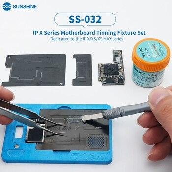 Sol SS-032 para IPhone X XS Max placa base estañado de conjunto