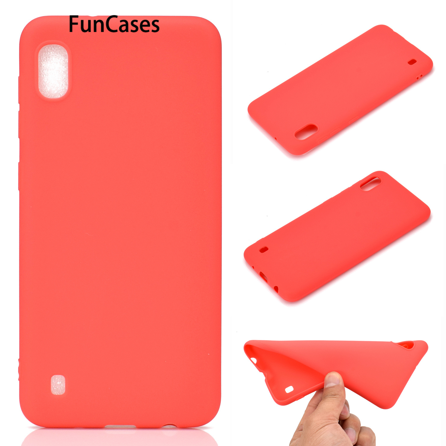 M10 Simple TPU Phone Cases For M20 M30 M40 <font><b>Samsung</b></font> A10 A20 A30 A40 <font><b>Samsung</b></font> A50 A60 A70 Galaxy <font><b>A80</b></font> A90 Soft Silicone <font><b>Cover</b></font> A70S image