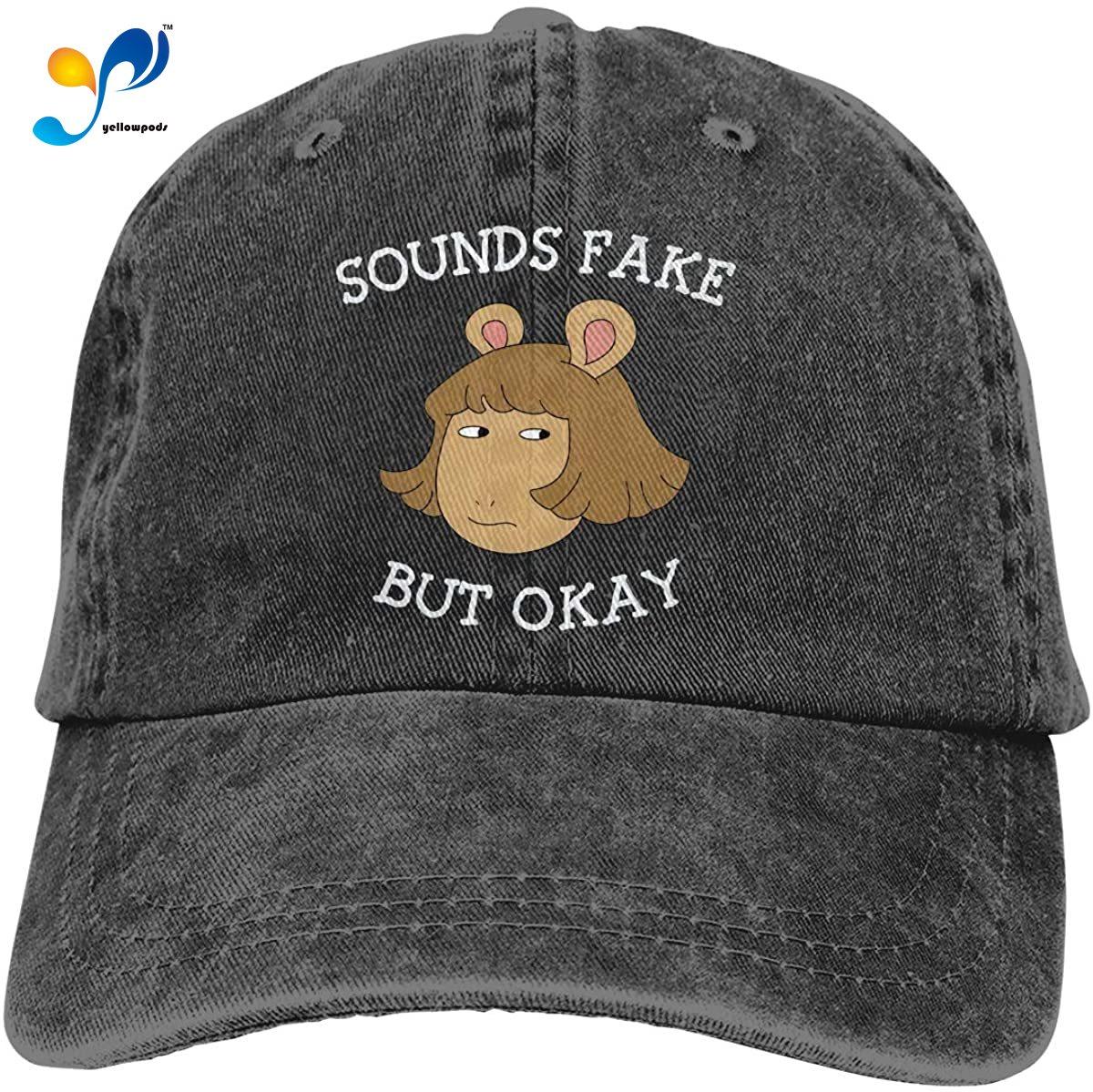 Arthur Sounds Fake But Okay Cowboy Cap Baseball Hat Casquette Headgear