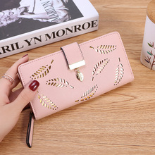 New Large Capacity Women Wallets Pu Leather Female Purses Long Clutch Multifunctional Zipper Hasp Purse Phone Wallet Card Holder new fashion women wallets pu leather zipper wallet women s long purse two fold clutch card bag casual hasp dollar price wallet