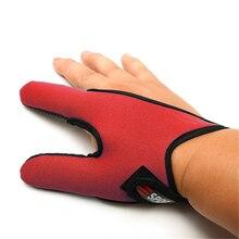2 пальца перчатки для рыбалки, уличные дышащие противоскользящие буквенный указатель перчатки для пальцев рыбалка палец протектор инструмент Аксессуары