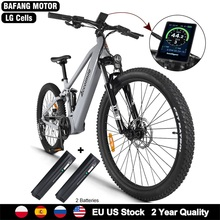 Electric Bicycle Battery Ebike Cells Mid-Motor Mountain-Bicicleta Bafang 750W LG Road-Bike-27.5inch