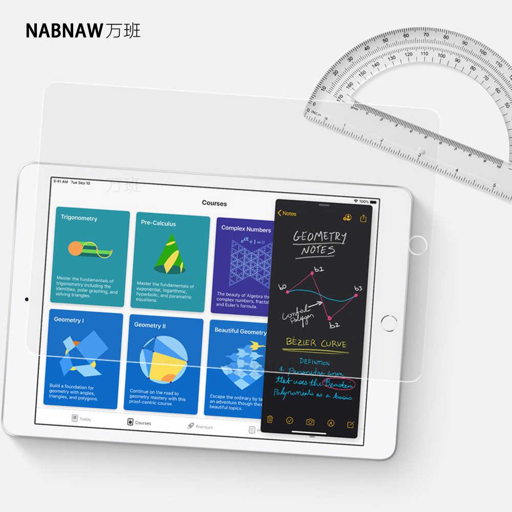 Naw protetor de tela de vidro temperado, para ipad 10.2 polegadas mini 5 4 3 2 1 air 10.5, ipad 9.7 ipad pro 11