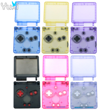 YuXi For GameBoy Advance SP Classic clear Limited Edition Replacement Housing Shell for GBA SP Housing Case Cover