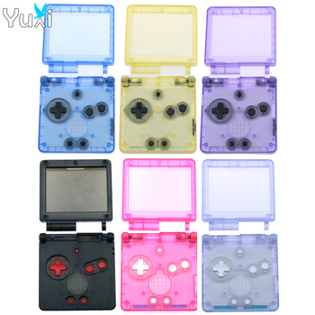 YuXi For GameBoy Advance SP Classic clear Limited Edition Replacement Housing Shell for GBA SP Housing Case Cover cltgxdd cartoon limited edition full housing shell for nintendo for gba sp game console cover case for gameboy advance sp