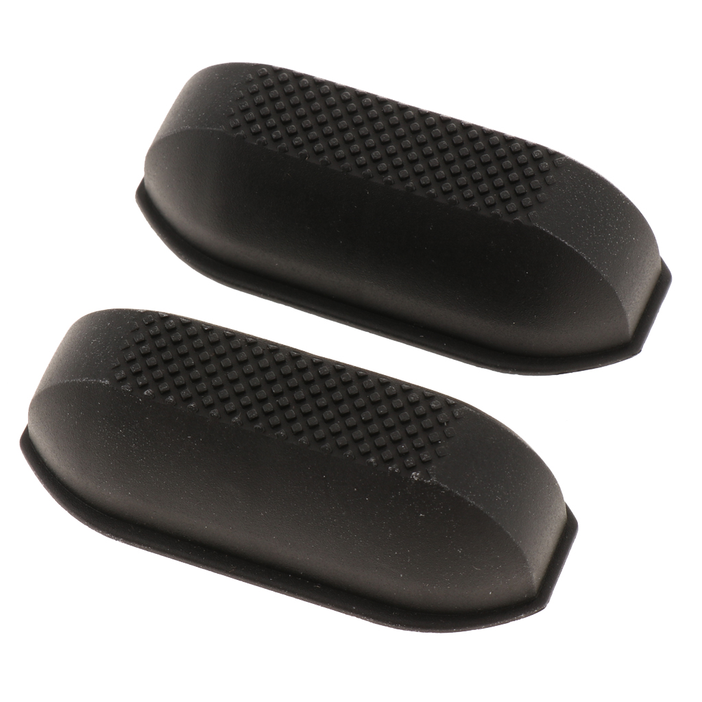 2x Replacement Luggage Stud Luggage Feet Pads For Luggage Bags Suitcase Stand Feet - Black
