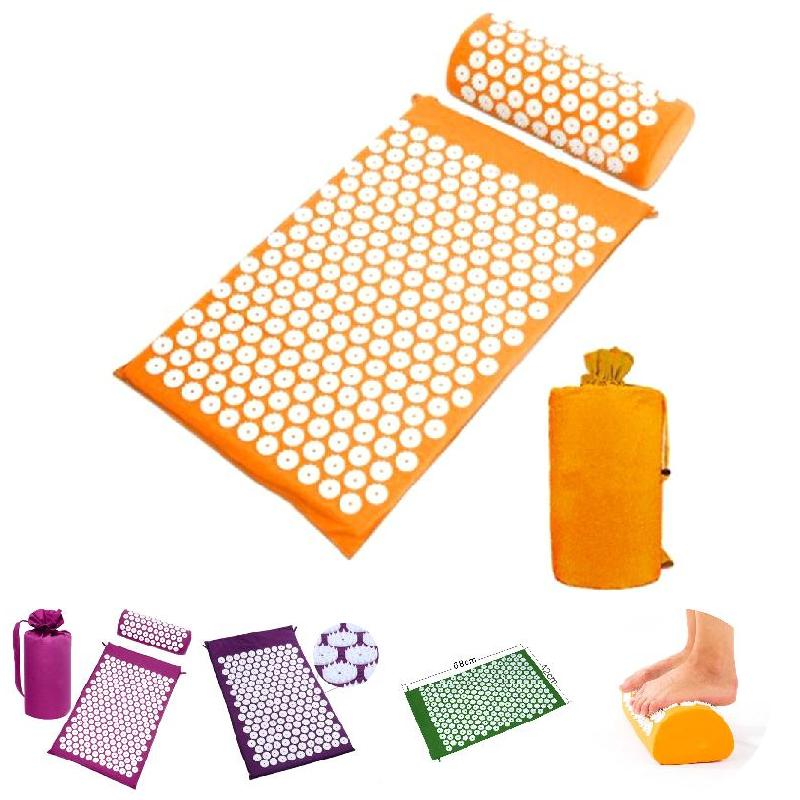 SEC88 Acupressure Massage Mat with Pillow set for Stress Pain and Tension Relief 5