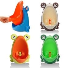Frog Plastic Baby Boys Children Pee Potty Toilet Training Kids Urinal Bathroom A9LE