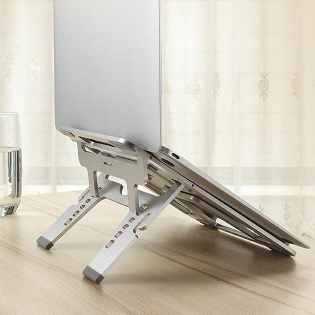 Laptop Stand U2S Aluminum Alloy Folding Adjustable Holder Cooling Bracket Cradle