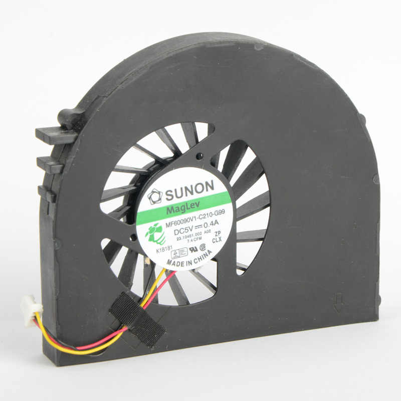 LAPTOP Penggantian Komponen CPU Cooling Fan Fit untuk DELL Inspiron 15R N5110 MF60090V1-C210-G99 Series Cooler Penggemar F0647