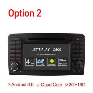 Image 2 - Ownice C500 안 드 로이드 6.0 Octa 코어 32G ROM 자동차 DVD 플레이어 GPS 메르세데스 GL ML 클래스 W164 X164 ML350 ML450 GL320 GL450 4G LTE