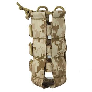 Image 2 - 調節可能な戦術やかんバッグ屋外迷彩水カップカバー多機能戦術的なバッグポータブル水ボトルカバー