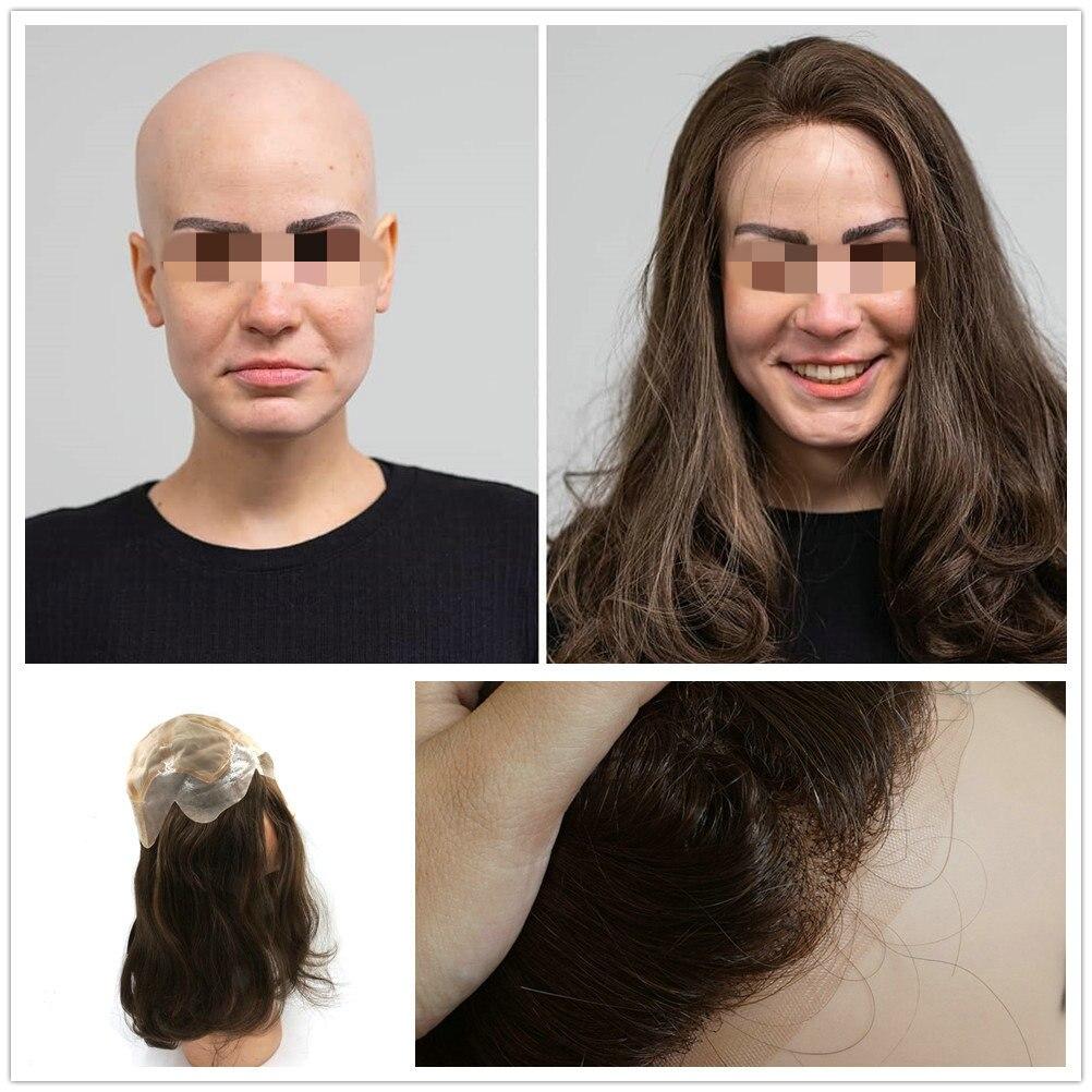 Hstonir Jewish European Hair Wigs 15 Inch Classic Human Remy Hair Wigs Silk Top In Stock G030