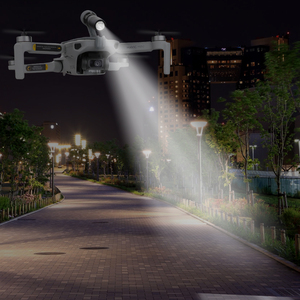 Image 2 - For Mavic Mini Night Navigation Headlamp LED Lights Night Flight Searchlight DJI Mavic Mini Accessories Flashlight