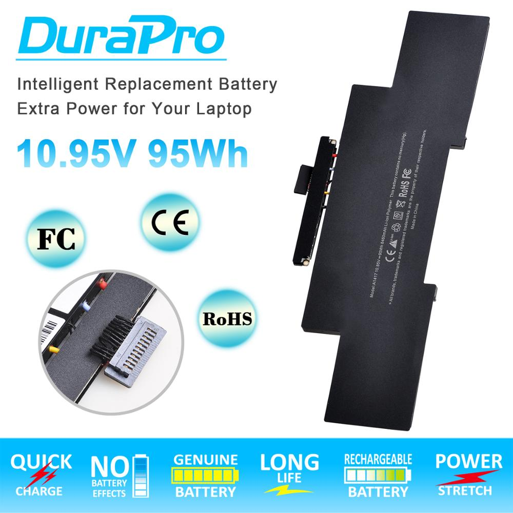 Laptop <font><b>Battery</b></font> for Apple A1417 A1398 (2012 Early-<font><b>2013</b></font> Version) for Apple <font><b>MacBook</b></font> Retina <font><b>Pro</b></font> <font><b>15</b></font>