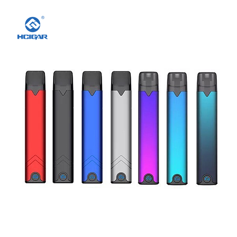HCIGAR AKSO OS Pod Kit 1.4ml Refillable Tank Mini Pod Vape Pen MTL Starter Kit Electronic Cigarette Air Driven Pod System