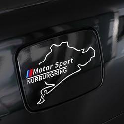 Car Fuel Tank Cap Sticker Vinyl Racing Nurburgring For BMW E90 E60 E46 E39 E87 E36 E92 E91 E34 F30 E10 F20 F30 G30 X1 X3 X5 X6
