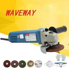 Ручной электрический угловой шлифовальный станок 220 В 710 Вт