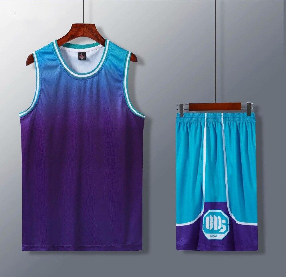 secagem rápida crianças camisas de basquete em branco