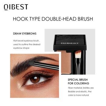 QIBEST Eyebrow Makeup Eyebrow Powder Gel Palette Eyebrows Enhancer With Brush Professional Cosmetics Eyebrow Shadows Soap Wax 2