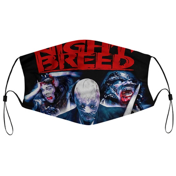 Dust mask with filter Men's Casual -d Nightbreed V2 Mens Funny image