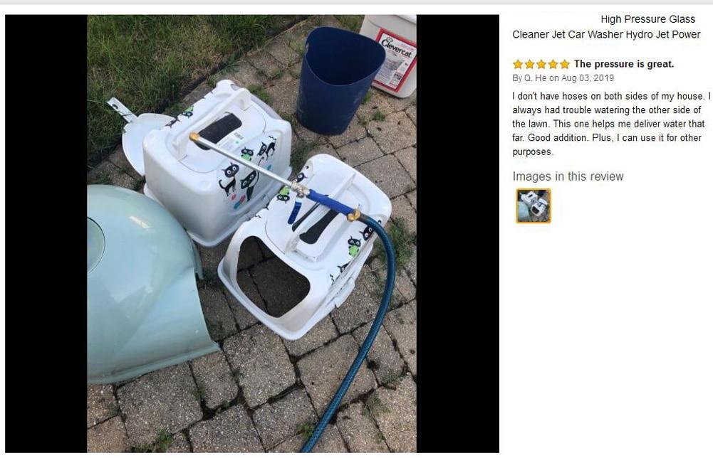 H270ca98d1ee34ff4b88a86819da3de71h Meijuner Car High Pressure Water Gun 46cm Jet Garden Washer Hose Wand Nozzle Sprayer Watering Spray Sprinkler Cleaning Tool