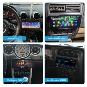 "Image 5 - 8.8 ""אנדרואיד 10 רכב רדיו Pantalla 1 דין 4GB 64GB אוניברסלי ראש יחידת Bluetooth מולטימדיה 4G carplay אנדרואיד אוטומטי אופטי פלט"