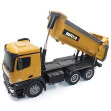 HUINA TOYS 1573 1573 1/14 10CH сплав RC самосвал Инженерная строительная машина радиоуправляемая игрушка RTR