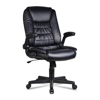 PU Leather Boss Office Chair 360 Degree Rotating Adjustable Swivel Chairs Executive Ergonomic Computer Chair Office Furniture executive office chair in velvet microfiber with nylon casters office furniture computer desk task ergonomic boss chair for home