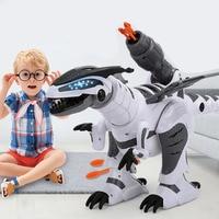 Cool Design Large Remote Control Dinosaur Intelligent Robot Simulation Animal Electric Mechanical Tyrannosaurus Toys for Boys