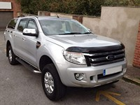 For Ford Ranger 2011 2012 2013 2014 2015 Front Bug Shield Hood the Deflectors Guard Bonnet|Spoilers & Wings| |  -