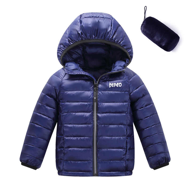 Fashion Children's Outerwear&coat Baby Boy Girl Cold Winter Warm Hooded Coat Children Cotton-Padded Clothes boy Down Jacket
