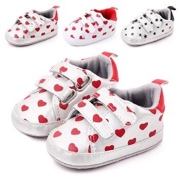 2020, zapatos para bebés recién nacidos, niños, niñas, piel sintética, primeros andadores, niños pequeños, cordones de cuero, suelas blandas, zapatillas de deporte 0-18 meses