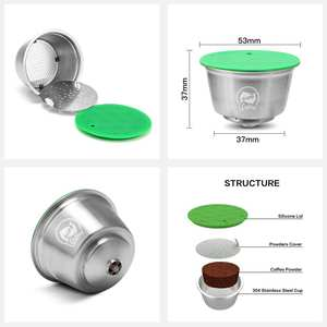 Coffee-Capsules Dolce Gusto Refillable Compatible with Top-Sales