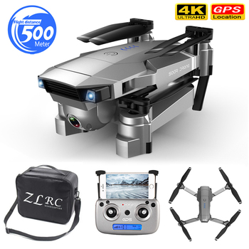 Profession GPS Drone with 4K HD Dual Camera Wide Angle Anti-shake Double GPS WIFI FPV RC Quadcopter Foldable Follow Me
