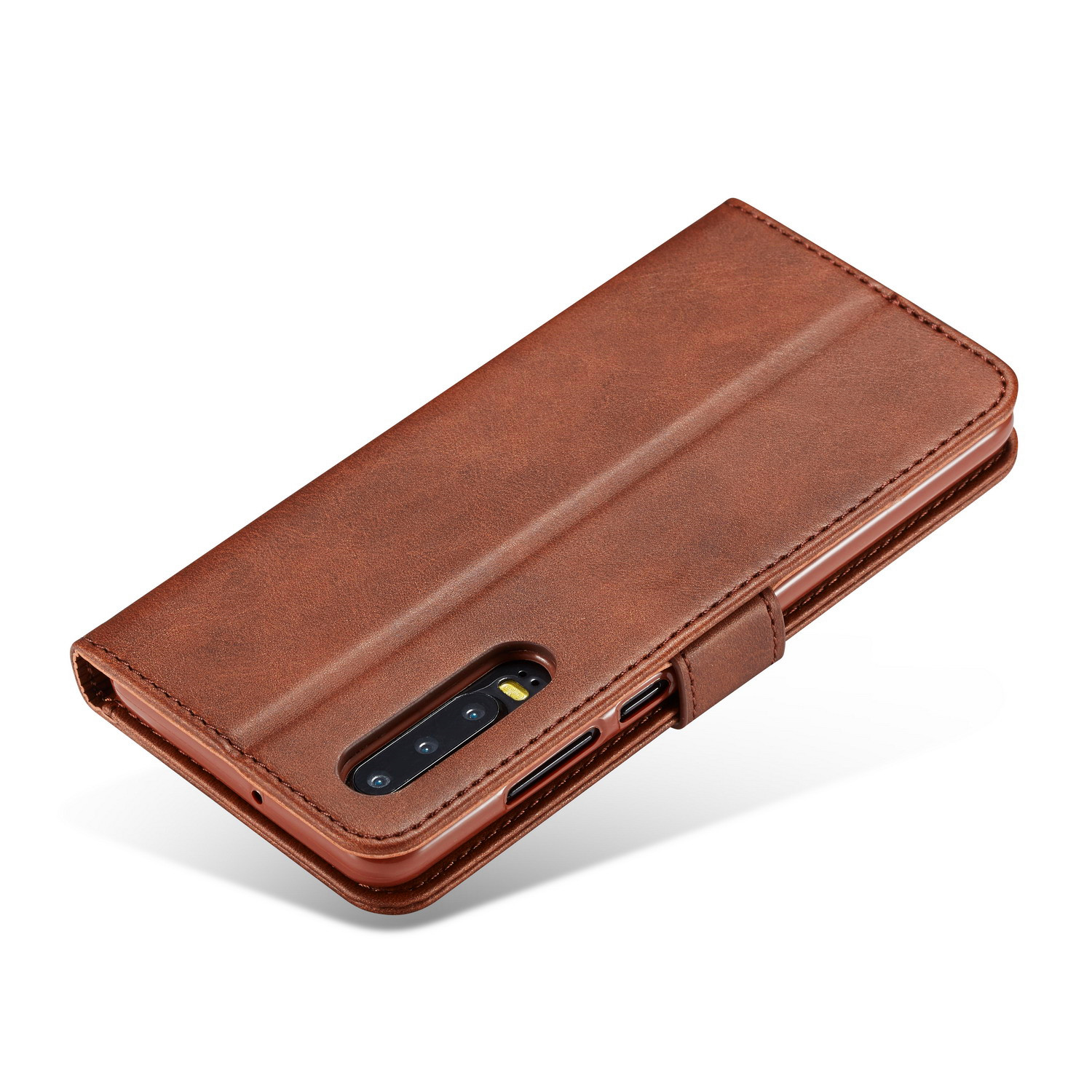 Magneticather Phone Case For Huawei P30 P20 P10 P9 Mate 20 Mate 10 lite P30 P20 Mate 20 Mate 10 Pro Cover P smart 2019 Case etui