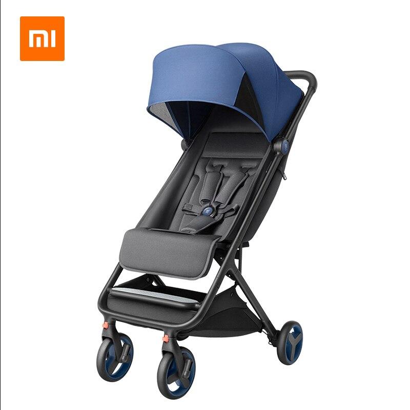 Xiaomi детская коляска Складная портативная тележка детская коляска ультра легкая umberlla Мини легкая коляска на самолете|Легкая коляска|   | АлиЭкспресс