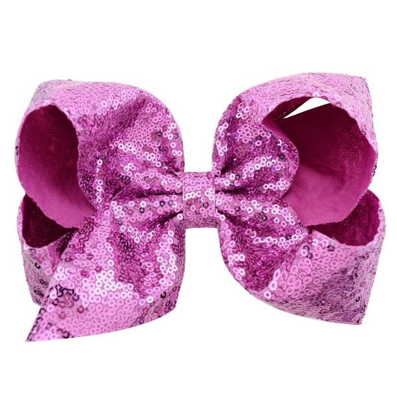 Купить с кэшбэком 1Pcs 8 Inch Hair Sequin Butterfly Festival Hair Clip Lovely Baby Barrette Children Hairpin Headwear Accessories