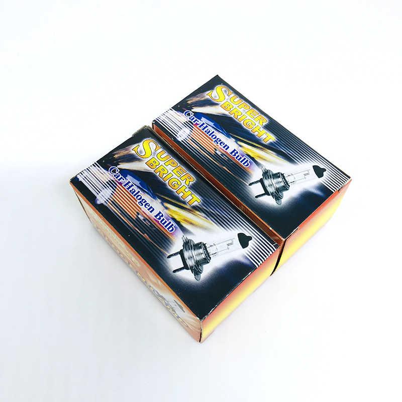2Pcs H7 PX26D 12V 6000K 100W Super Branca Car Auto HOD Halogênio Lâmpadas Dos Faróis de Lâmpadas Lâmpadas para Qualquer Carro Lâmpadas Dos Faróis 12V
