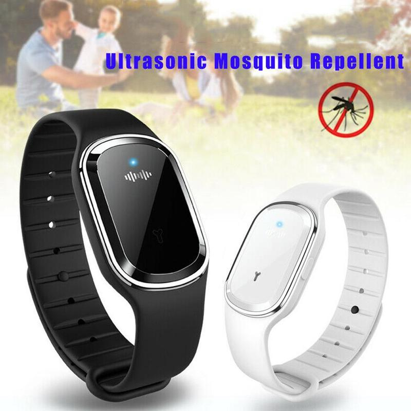Bracelet Wristband Repellent Bugs-Control Insect Anti-Mosquito Ultrasonic Pest New