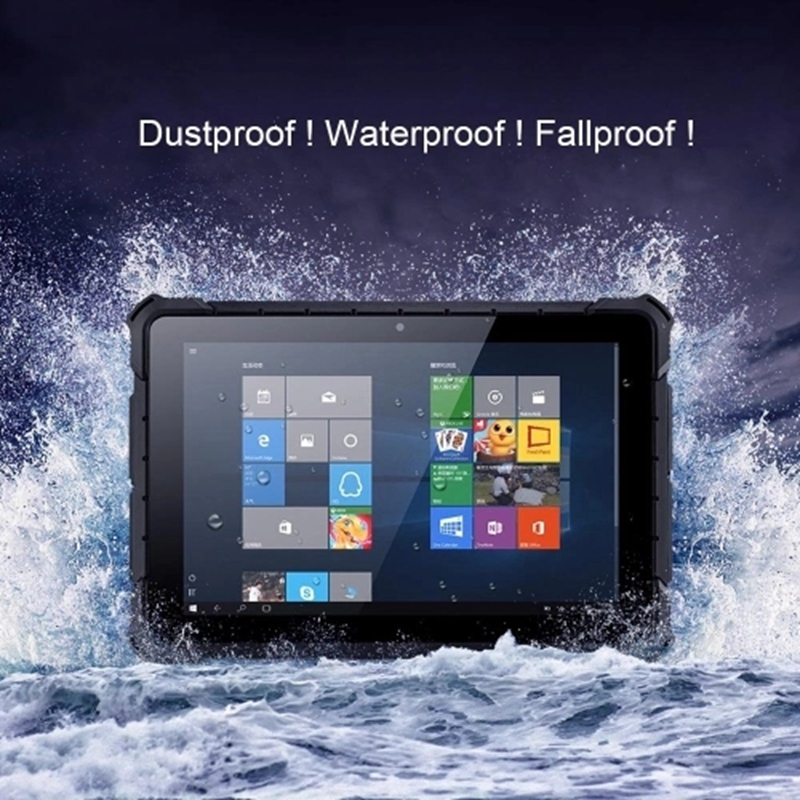 10.1 Inches Tablet PC Support For Windows 10 Intel Z8350 4GB/64GB Dual Cameras Tablet Computer 2.4G / 5G WiFi BT4.0 Waterproof D