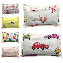 Pillowcase Kids 100%Cotton Newborns Cartoon Animal Infant Girls Baby Boys Children 35--50cm