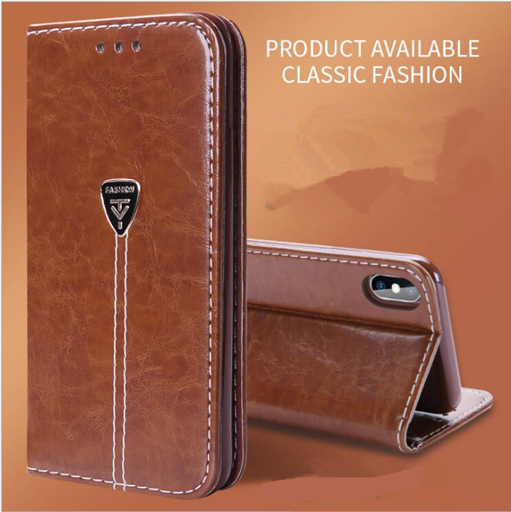 Leather Case For <font><b>Sony</b></font> Xperia XA1 Dua Wallet Flip Case For <font><b>Sony</b></font> Xperia XA1 <font><b>G3112</b></font> G3116 G3121 G3123 G3125 Coque with Card Holder image