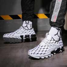 גברים נעלי סניקרס אור לנשימה לבן גברים נעליים יומיומיות 2020 הגעה חדשה אופנה גברים של ספורט שרוכים נוח גדול גודל 47