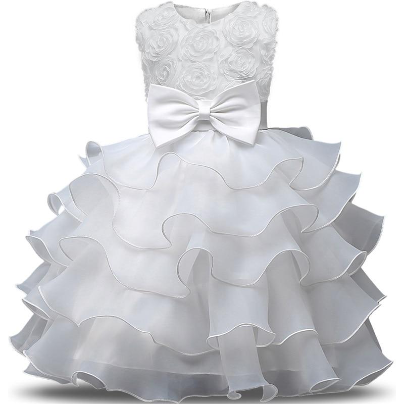 Girl Dress New Year Costume Kid Dresses Girls Clothes Party Princess Vestidos 5 6 7 8 year birthday Dress Christmas baptism 4