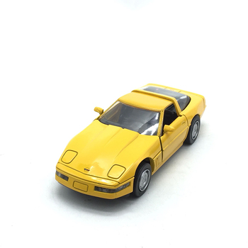 1:32 Scale Alloy Toy Car Metal Die casting Chevrole Corvette Toy Car Model Static Model Collection Decoration Gift For Kids new year gift lp770 upgrade package 1 18 metal model car collection toys luxury diecast decoration alloy metal static present