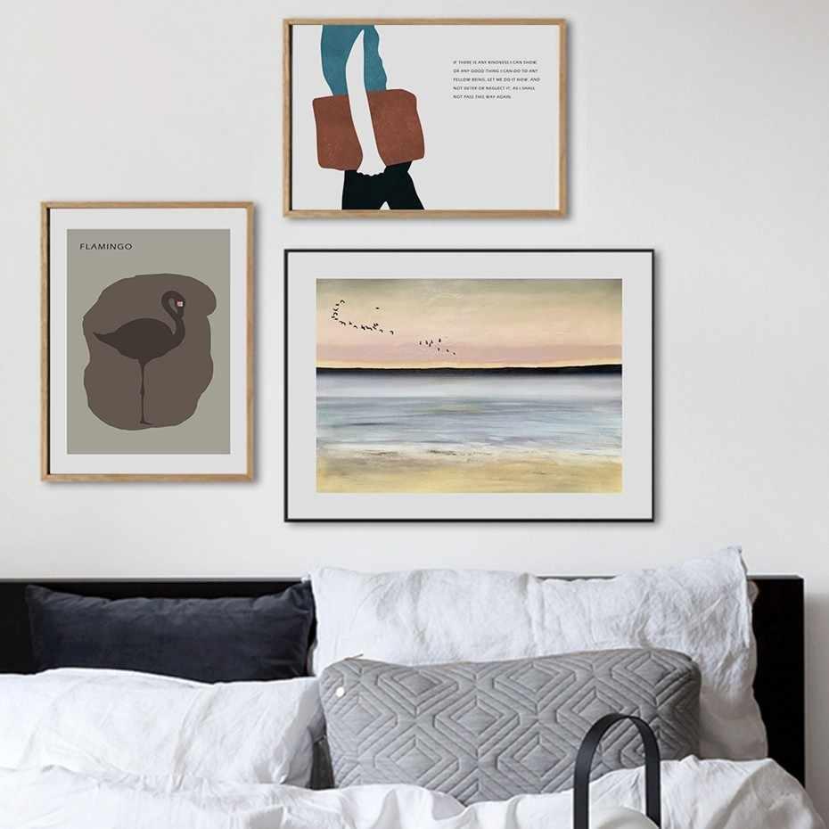 Nordic skandynawia abstrakcyjne geometryczne obraz ścienny na płótnie plakaty i druki zdjęcia pop do salonu wystrój wnętrz