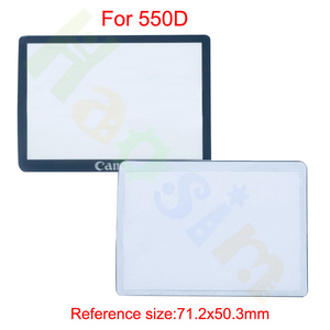 Image 3 - 10pcs חיצוני חיצוני LCD מסך מגן חלקי תיקון עבור Canon 5D 5D2 6D 40D 50D 60D 400D 450D 500D 550D 600D 1000D1100D SLR